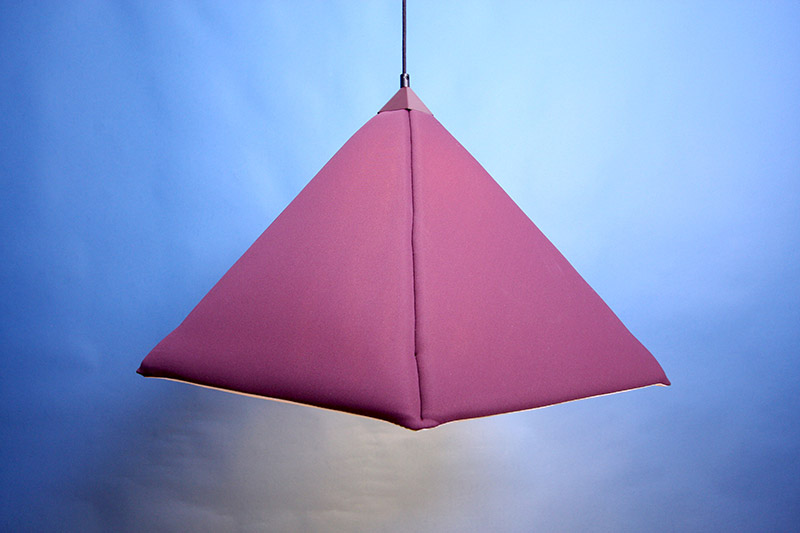 Industry upholstered pendant Lamp by Jonas Wagell 4