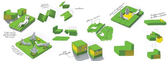 Multiplo Modular Furniture Concept 7