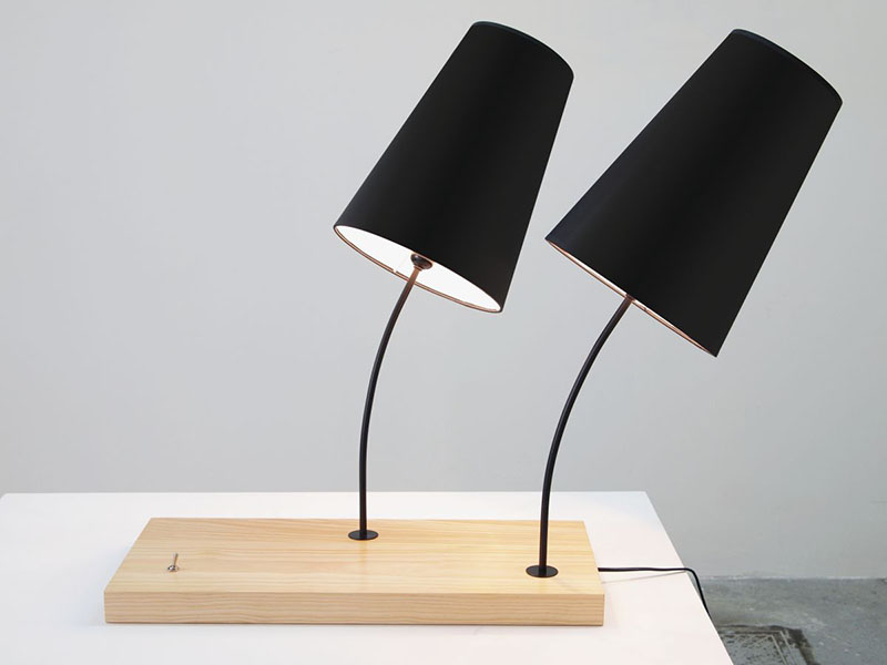 Placa Desk Lamp by Goncalo Campos