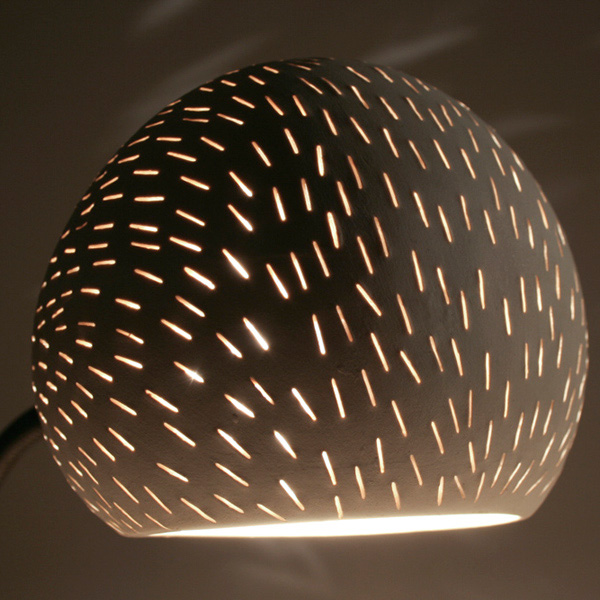 Claylight Porcupine Desk lamp by Sharan Elran 2