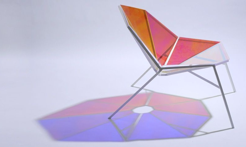 Colorful Transparent Chair Random8 by Pitaya Design 4