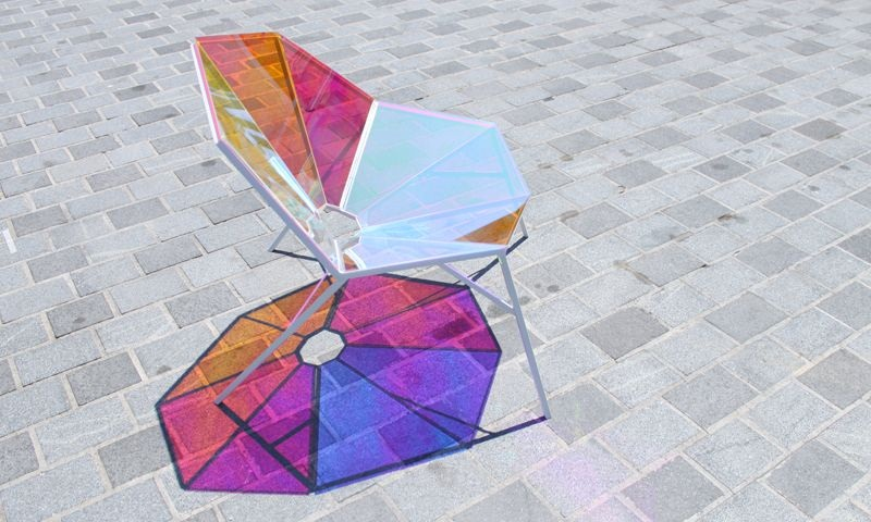 Colorful Transparent Chair Random8 by Pitaya Design 6