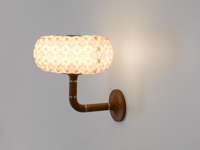 Molecules wall lamp