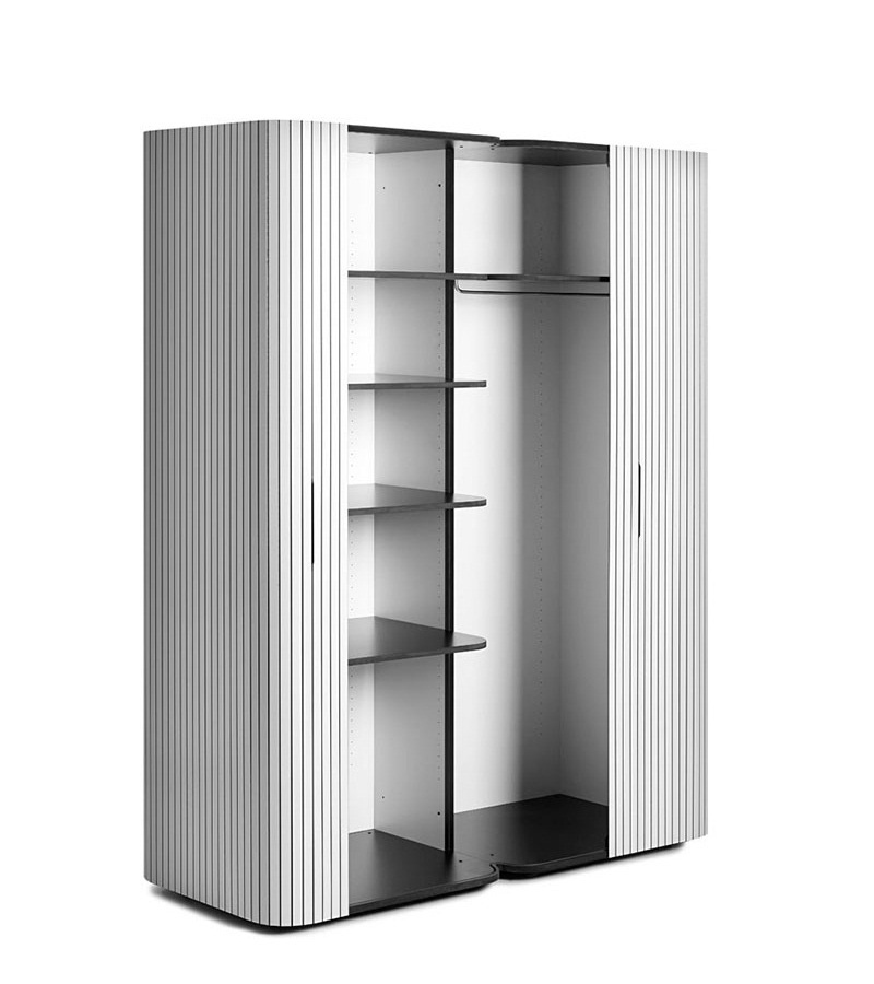 Modern Wardrobe Wogg 49 with Roller Door 4