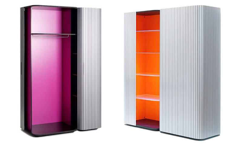 Modern Wardrobe Wogg 49 with Roller Door 5