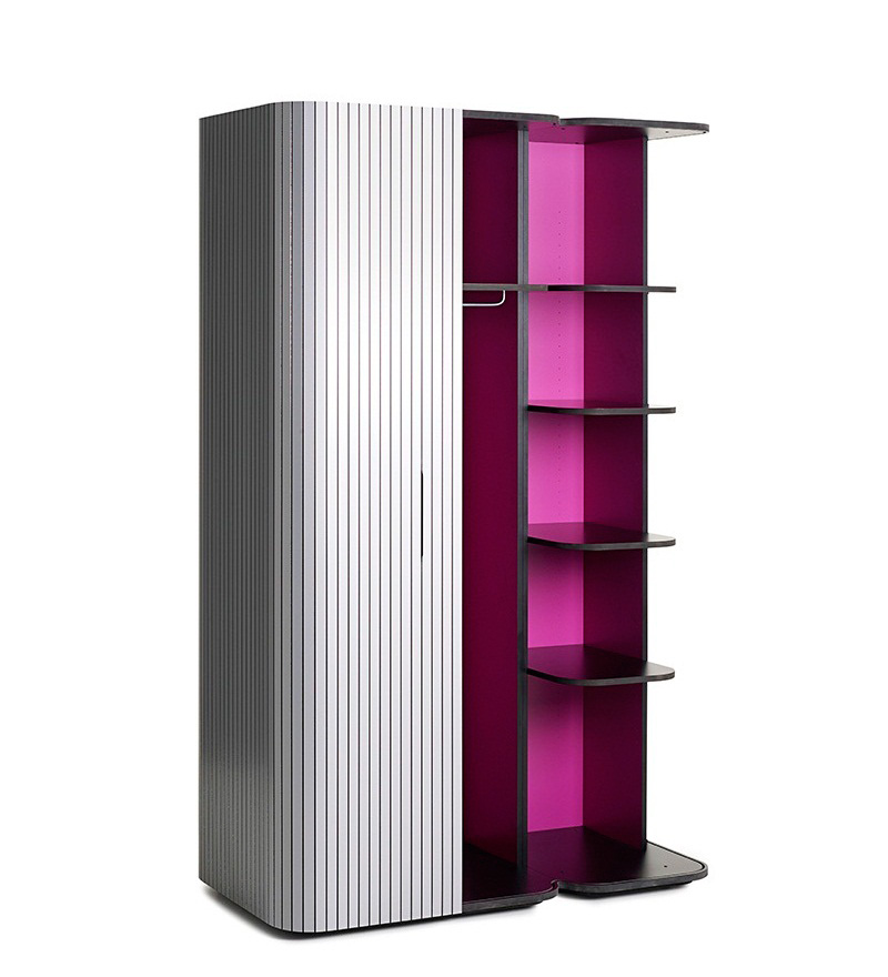 Modern Wardrobe Wogg 49 with Roller Door 7