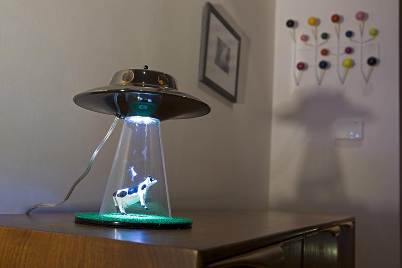 Alien Abduction Lamp 6