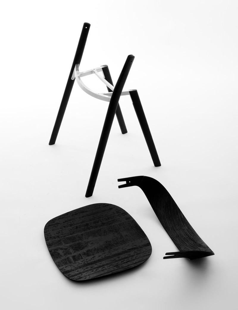 Baguettes Chair by Ronan and Erwan Bouroullec 3