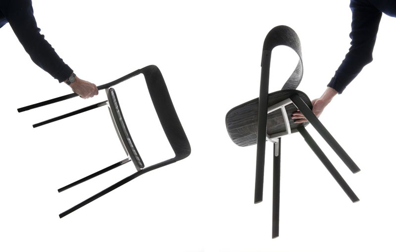 Baguettes Chair by Ronan and Erwan Bouroullec 4