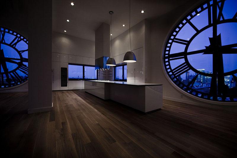 Clock Tower Kitchen 2