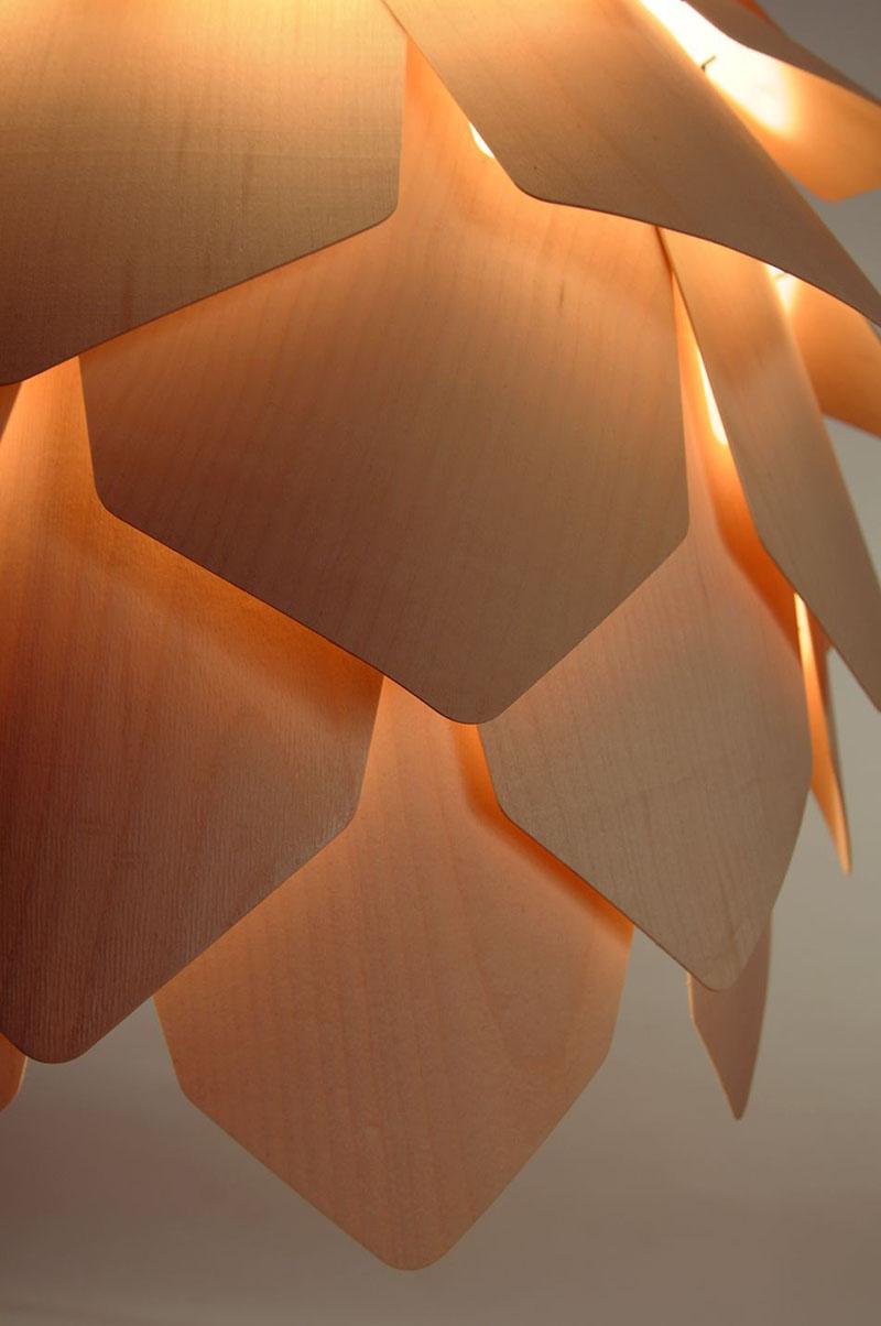 Crimean Pinecone Lamp 3