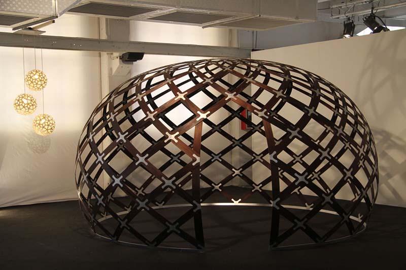 Dream Space Dome by David Trubridge 1