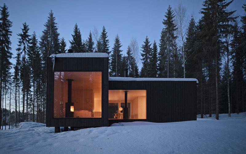 Four-Cornered Villa by Avanto Architects 2