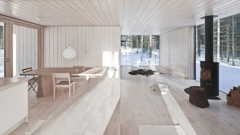 Four-Cornered Villa by Avanto Architects 9
