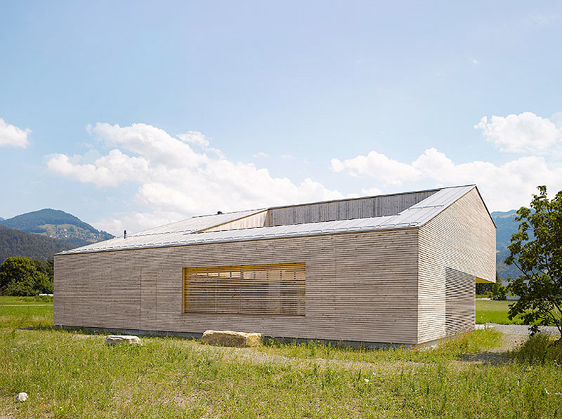 house in field by Bernardo Bader 1