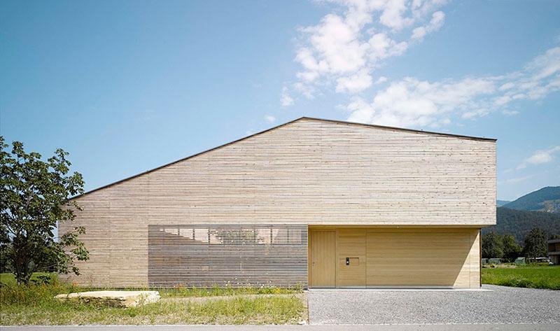 house in field by Bernardo Bader 2