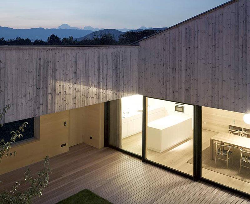 house in field by Bernardo Bader 7