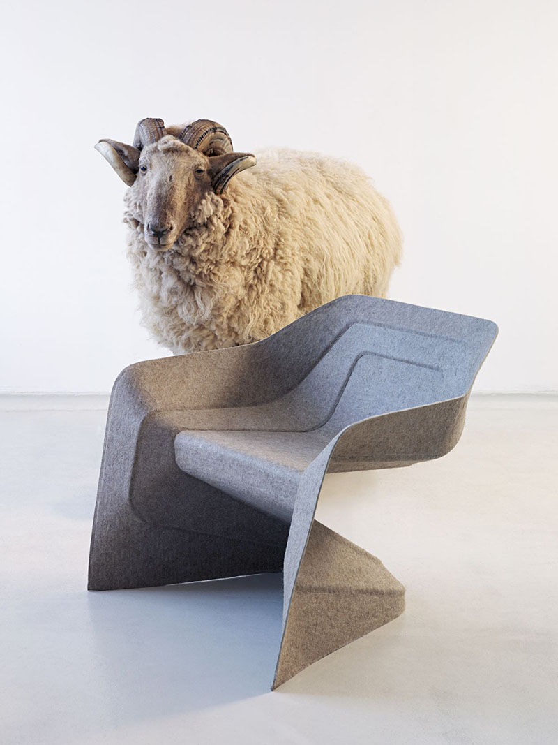 Monobloc Chair Hemp by Studio Aisslinger 4