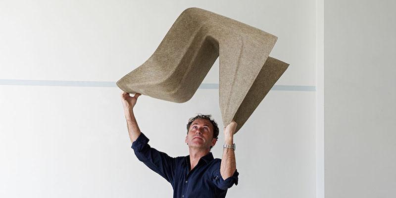 Monobloc Chair Hemp by Studio Aisslinger 5