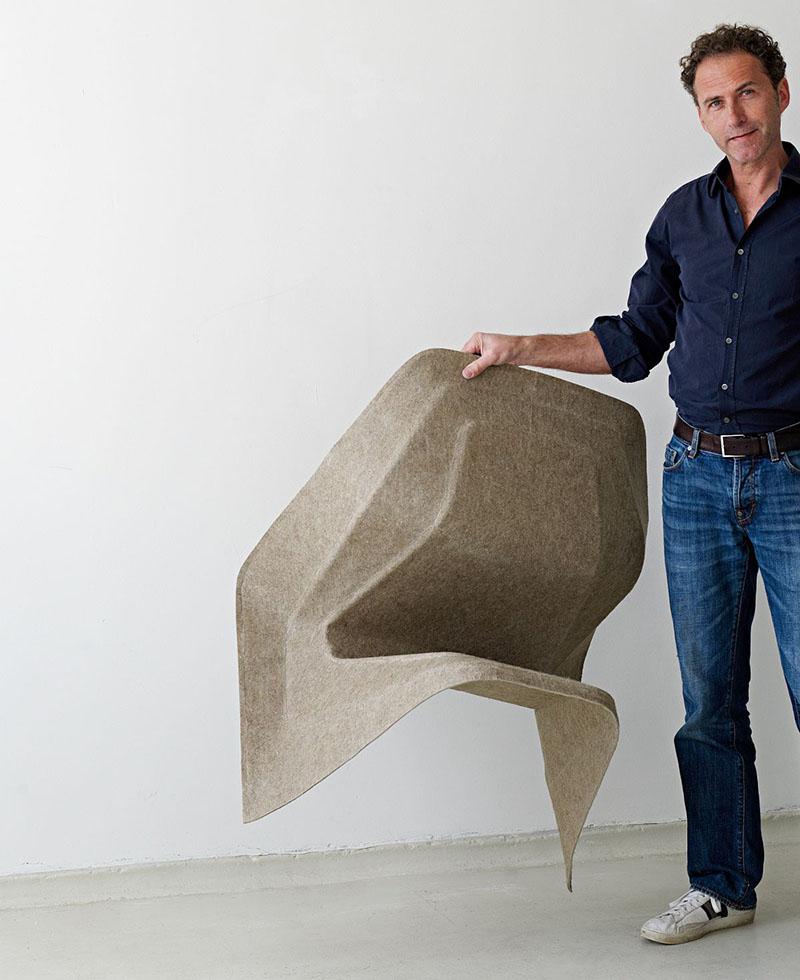 Monobloc Chair Hemp by Studio Aisslinger 6