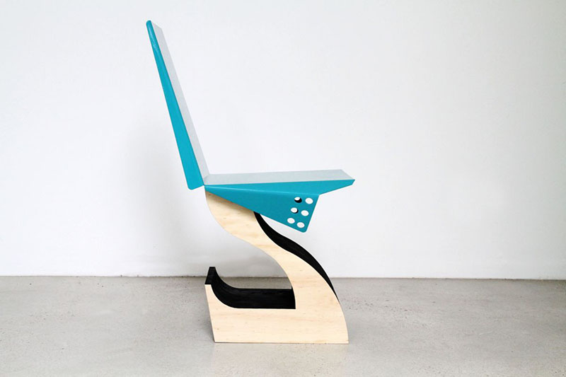 Hybrid Chair Design by LifeSpaceJourney