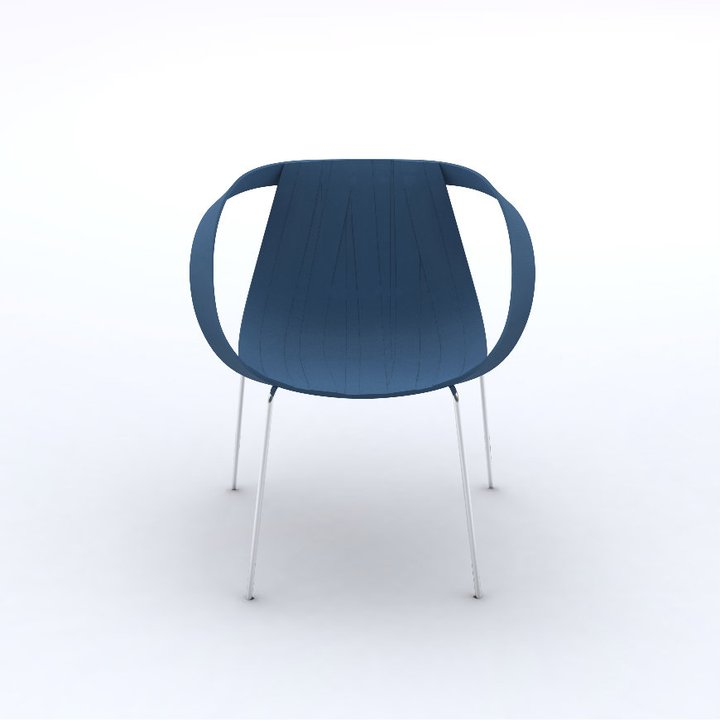 Impossible Wood Chair by Doshi Levien for Moroso 1