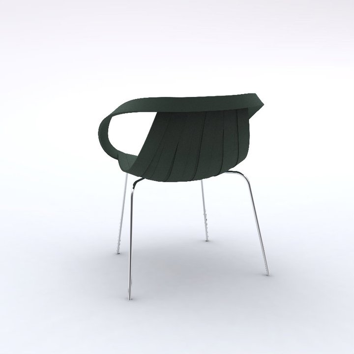 Impossible Wood Chair by Doshi Levien for Moroso 2