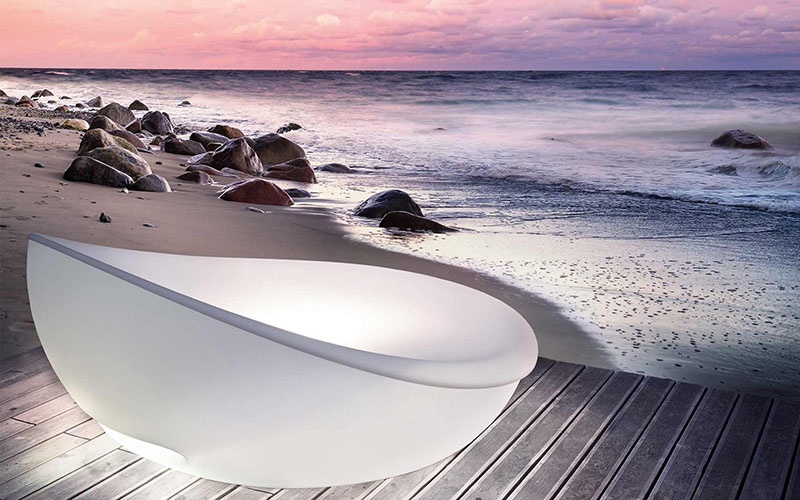 Lagoon Outdoor Daybed by Solpuri 2