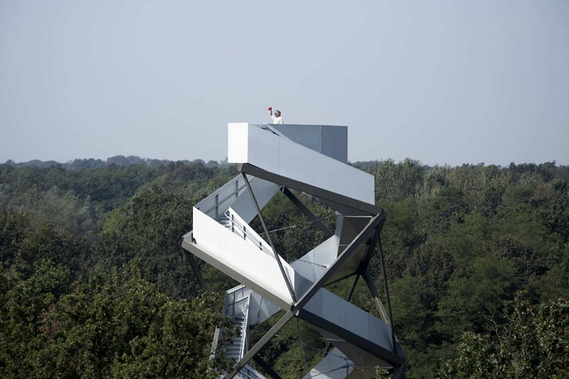 Murturm Nature Observation Tower by Terrain 1