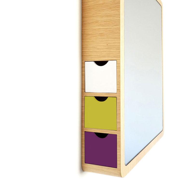 Precious Mirror with storage drawer 3