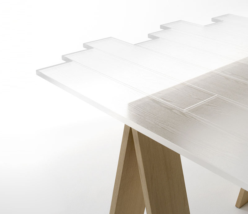 Transparent Table by Nendo 3