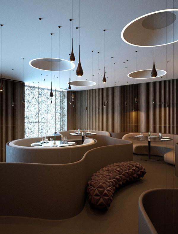Twister Restaurant Interior Design 6