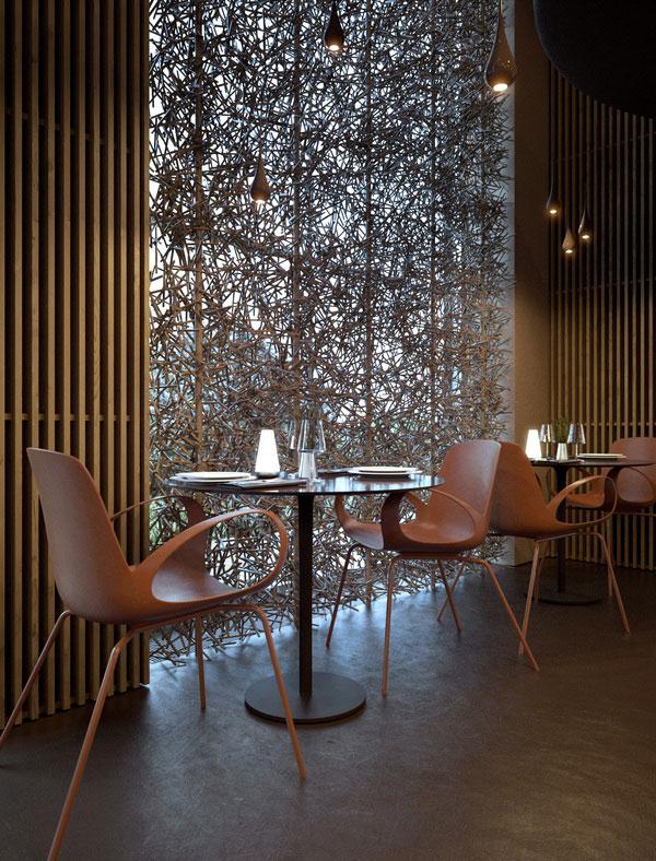 Twister Restaurant Interior Design 8