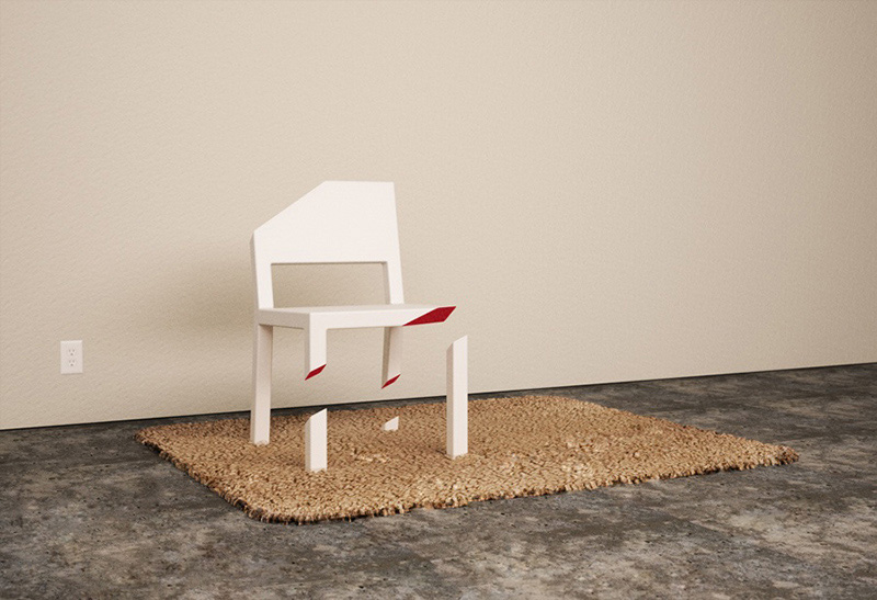 Cut Chair 1