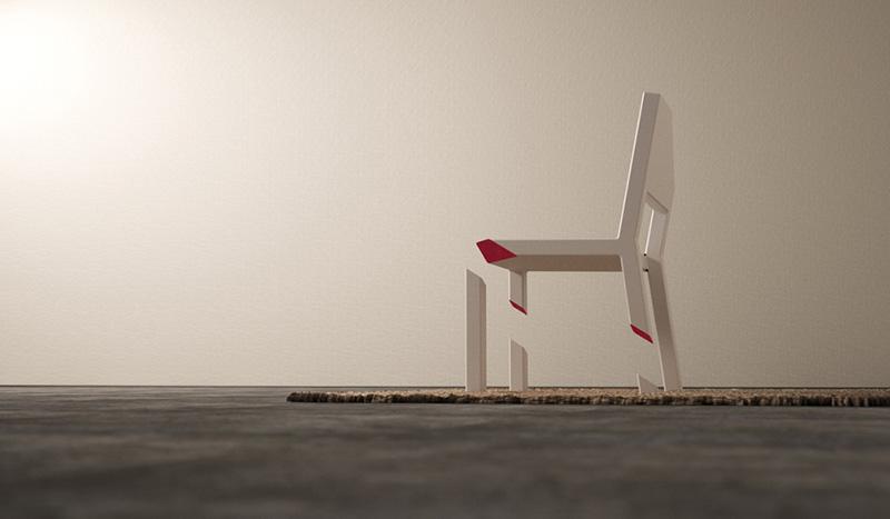 Cut Chair 2