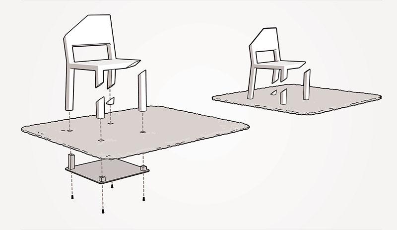 Cut Chair 4