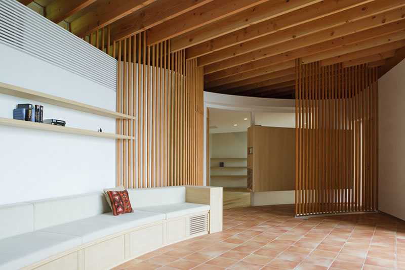 House in Hill by Cell Space Architects 7