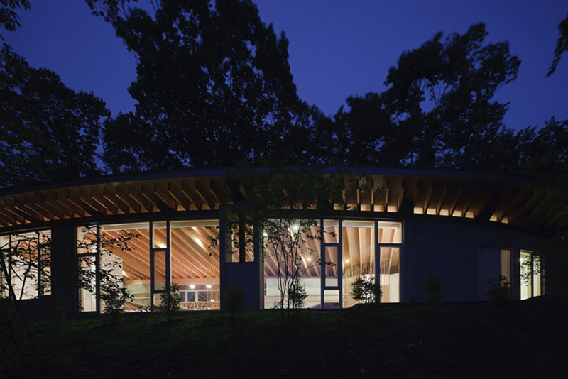House in Hill by Cell Space Architects 9