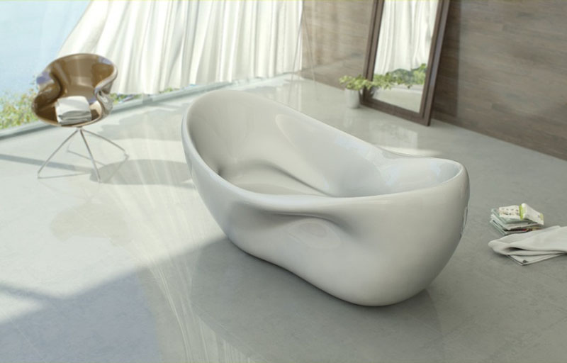 Modern Bathtub Design Charme