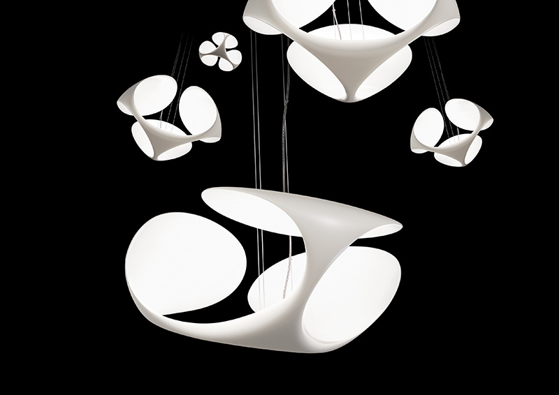 Clover Suspended Lamp 1