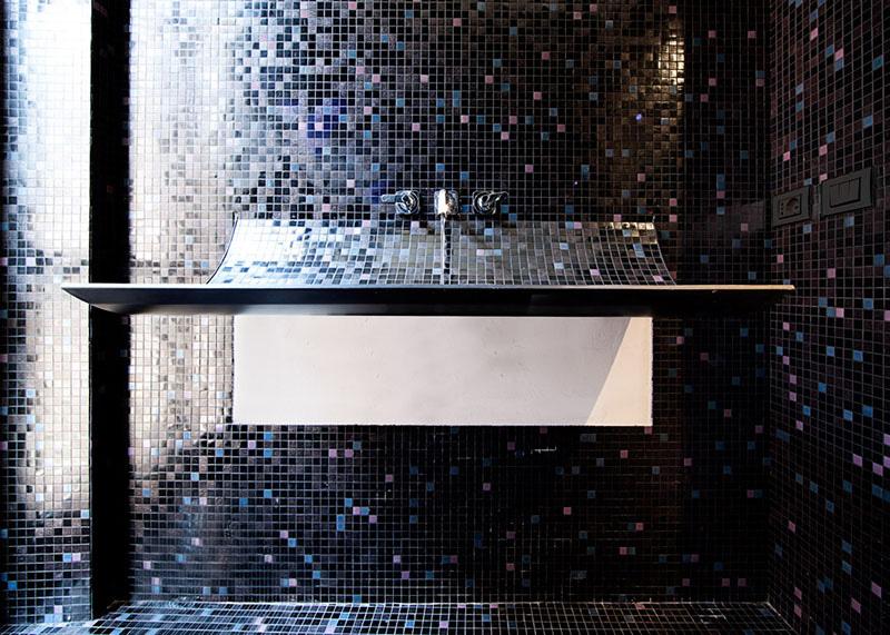Peeled-back sink Lavabo Skin 3