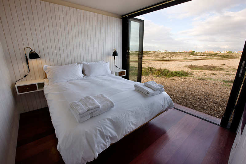 The Shingle House Bedroom with Outdoor view