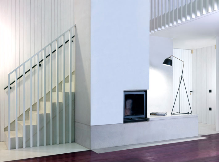 The Shingle House Staircase