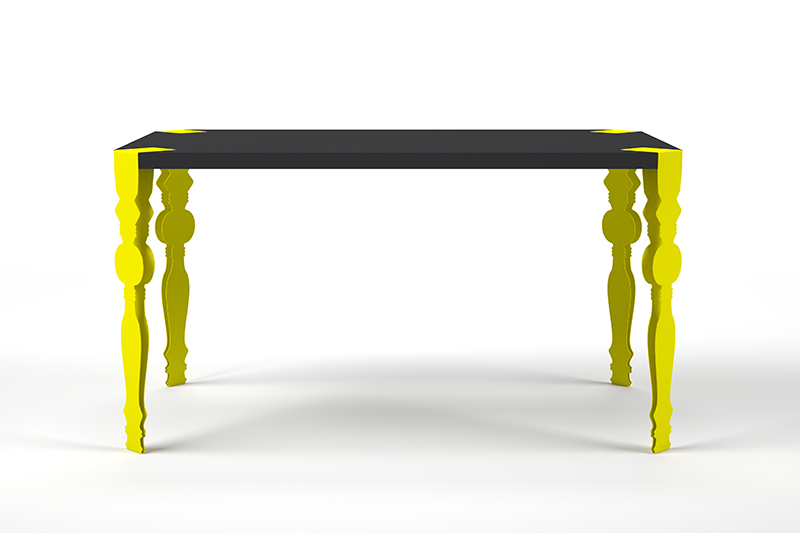 Flab Table Tent London 1