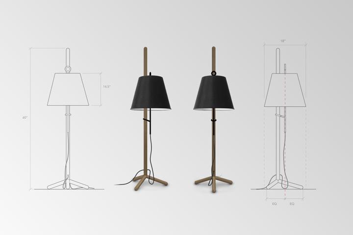 Cantilever Floor Lamp 2