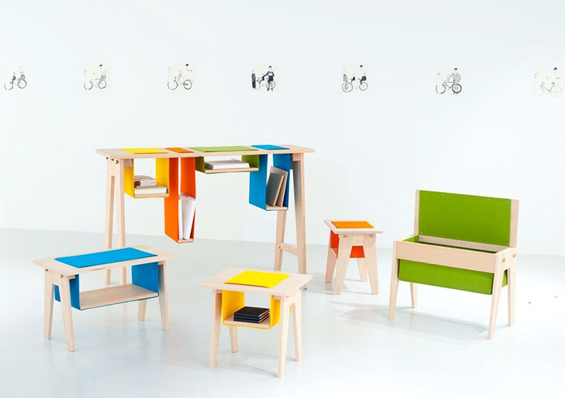 Felt & Gravity Furniture series 1