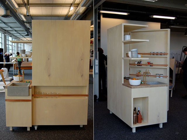 Keukenkabinet Compact Kitchen 3