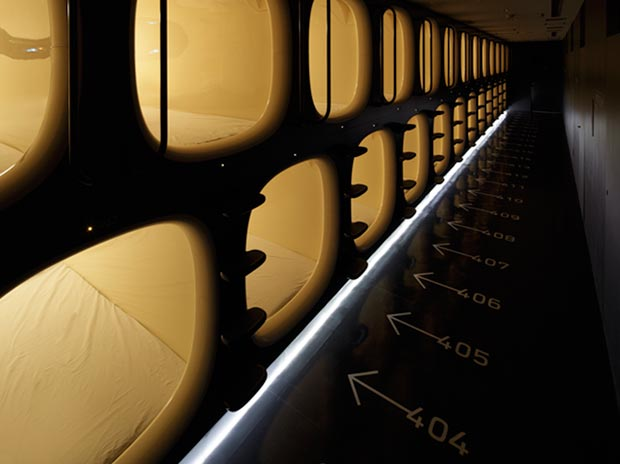 Nine Hours compact capsule hotel 4