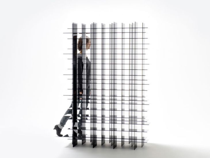 Scatter Storage Shelf by Nendo 4