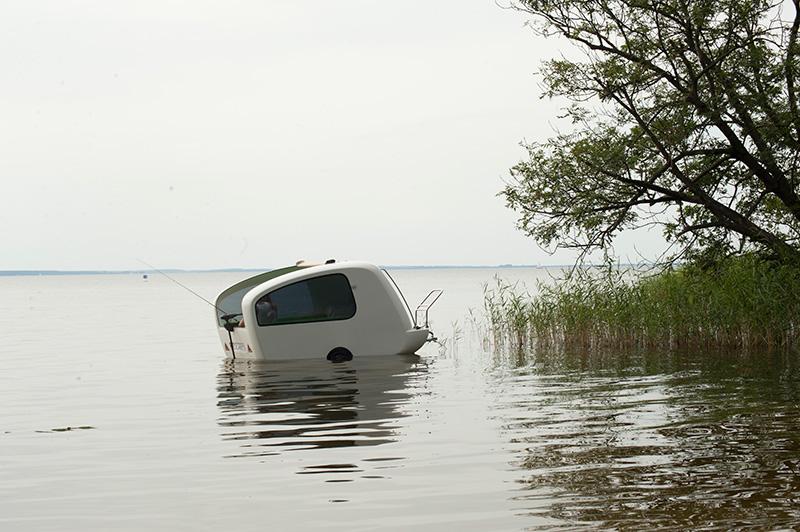 Sealander Amphibious Caravan 3